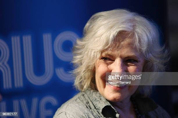 Tony award winning actress and singer Betty Buckley attends SIRIUS XM Live on Broadway at The Broadway Concierge Ticket Center on February 3 2010 in...