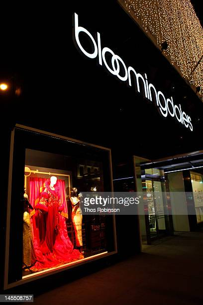 Tony Awards Costume Exhibit At Bloomingdale's on May 31 2012 in New York City