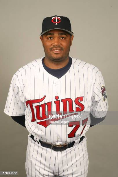 Tony Batista of the Minnesota Twins during photo day at Hammond Stadium on February 27 2007 in Ft Myers Florida