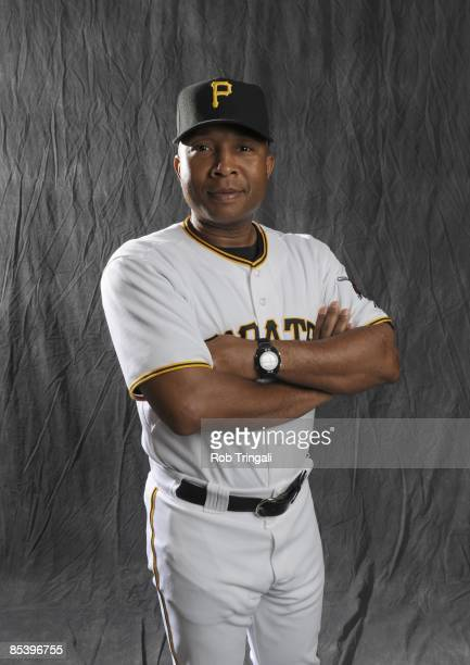 Tony Beasley of the Pittsburgh Pirates poses during photo day at the Pirates spring training complex on February 22 2009 in Bradenton Florida