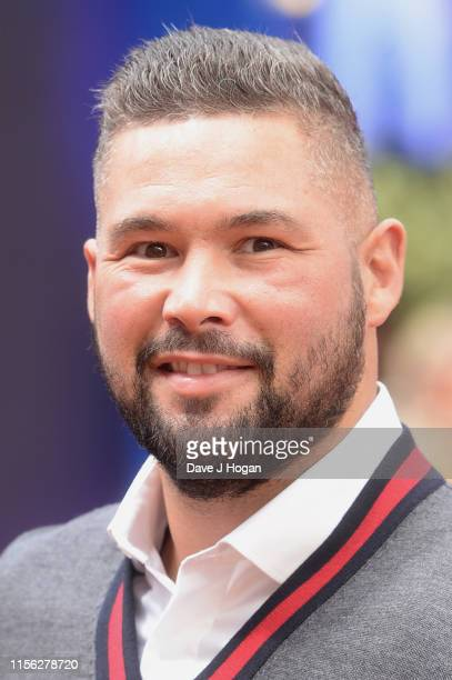 """Tony Bellew attends the """"Toy Story 4"""" European Premiere at Odeon Luxe Leicester Square on June 16, 2019 in London, England."""