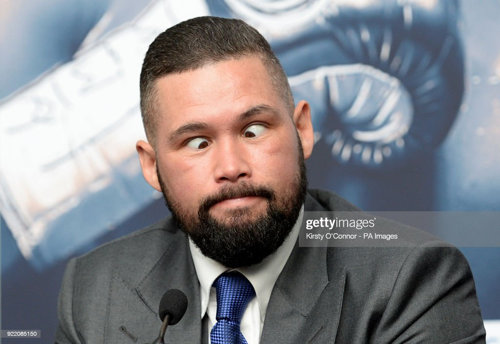 Tony Bellew during the press conference at Park Plaza Westminster Bridge, London.