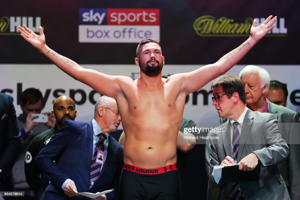 Tony Bellew v David Haye - Weigh in