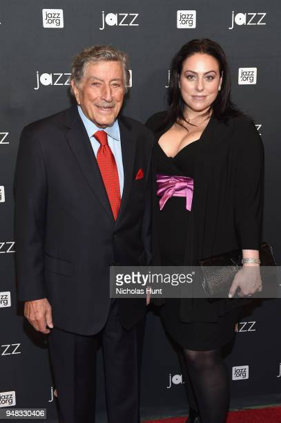 10a59d9f Tony Bennett and Joanna Bennett attend Jazz At Lincoln Center's 30th  Anniversary Gala at Jazz at