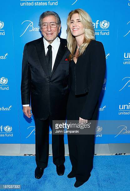 Tony Bennett and Susan Bennett attend UNICEF Snowflake Ball 2012 at Cipriani 42nd Street on November 27 2012 in New York City