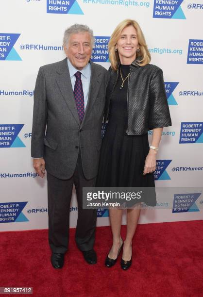 Tony Bennett and Susan Crow attend Robert F Kennedy Human Rights Hosts Annual Ripple Of Hope Awards Dinner on December 13 2017 in New York City