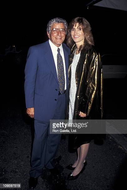Tony Bennett and Susan Crow during Tony Bennett Sighting at Tavern on the Green in New York City June 6 1995 at Tavern On The Green in New York City...