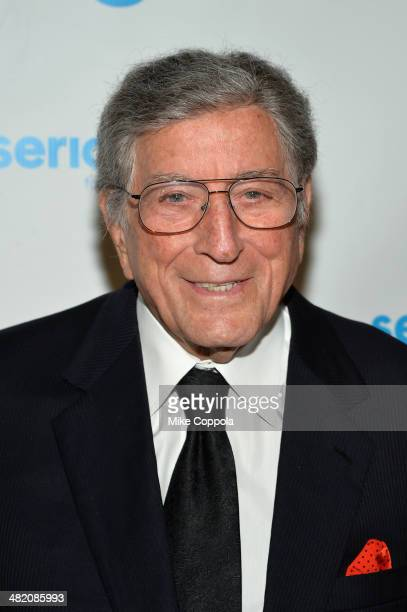 Tony Bennett attends the SeriousFun Children's Network Gala at Cipriani 42nd Street on April 2 2014 in New York City