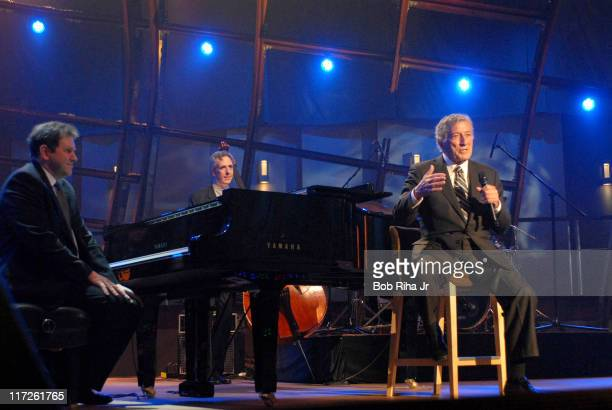Tony Bennett during Tony Bennett Concert for Nissan Live Sets on Yahoo Music in Los Angeles California United States