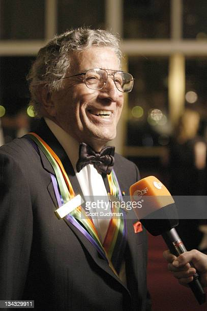 Tony Bennett honoree during 2005 Kennedy Center Honors at Kennedy Center Opera House in Washington DC United States