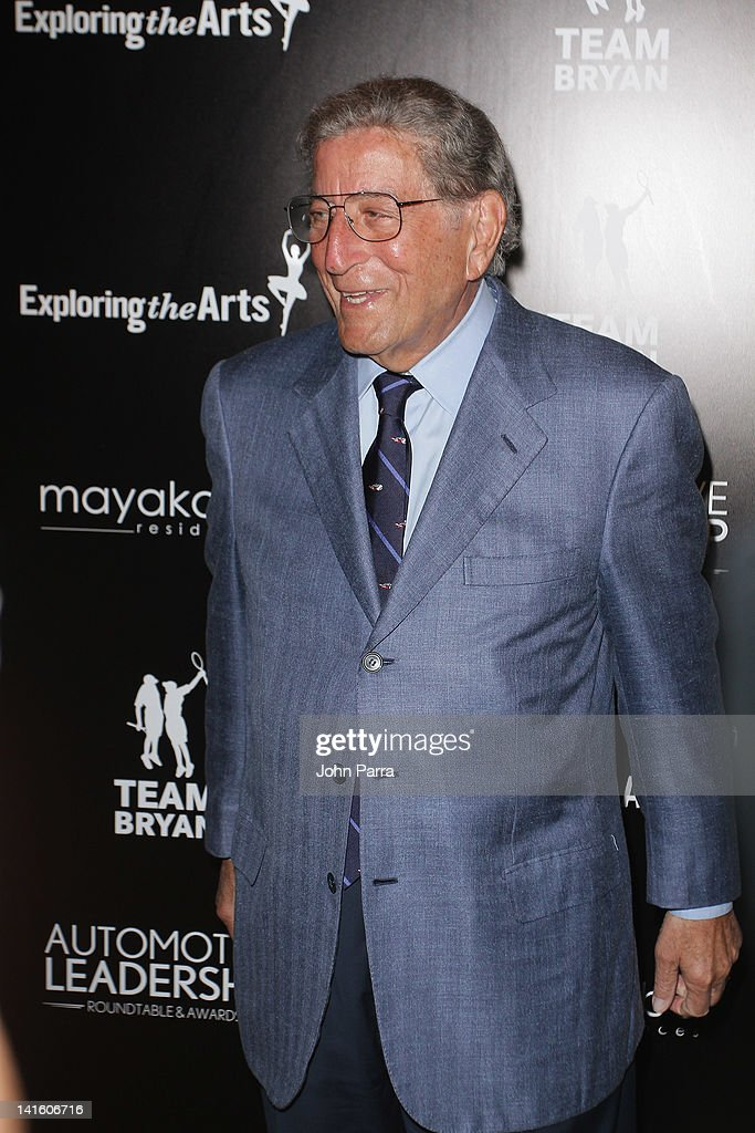 Tony Bennett hosts Tony Bennett Benefit Gala at Vizcaya Museum and Gardens on March 19, 2012 in Miami, Florida.