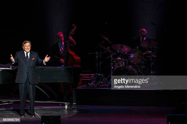 Tony Bennett performs at Playhouse Square in Cleveland Ohio on November 22 2014