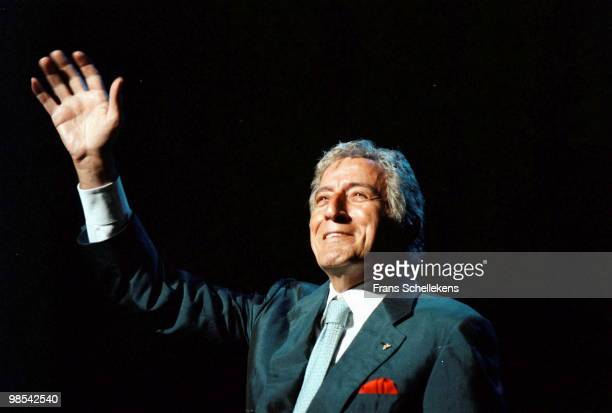 Tony Bennett performs live on stage at the North Sea Jazz Festival in The Hague, Netherlands on July 15 2000