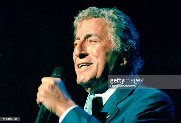 Tony Bennett, performs on July 15th 2000 at the North Sea Jazz Festival in the Hague, Netherlands.