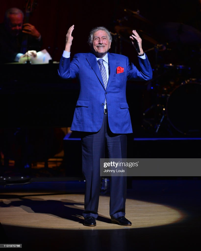 FL: Tony Bennett With Special Guest Antonia Bennett In Concert - Miami, Florida