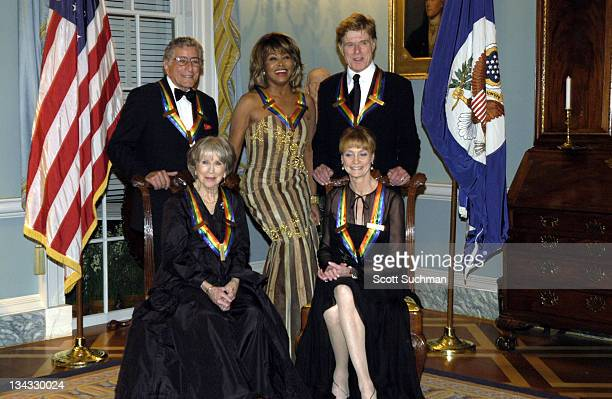 Tony Bennett Tina Turner Robert Redford Julie Harris and Suzanne Farrell