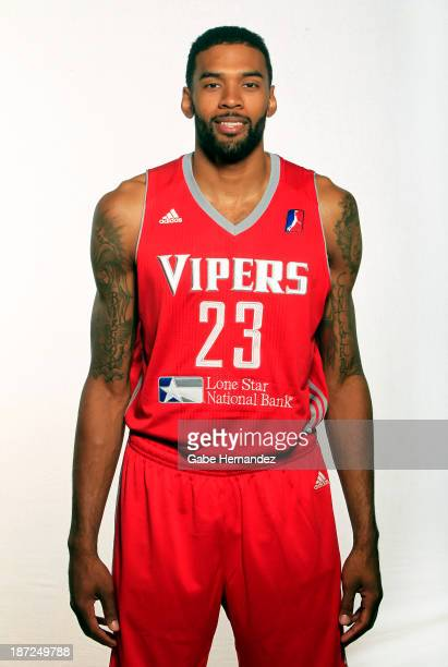 Tony Bishop of the Rio Grande Valley Vipers on Nov 6 2013 at the University of TexasPan American Field House in Edinburg Texas NOTE TO USER User...