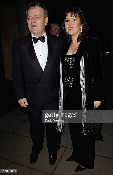 Tony Blackburn and wife Debbie arrive at the Variety Club Annual Dinner Ball the 54th annual fundraiser for the charity at Grosvenor House on March...