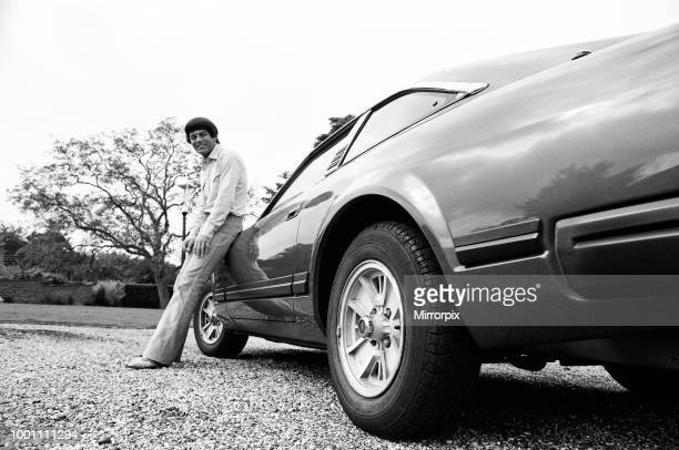 Tony Blackburn at his home in Cookham Dean Berkshire following the breakdown of his marriage 20th August 1979