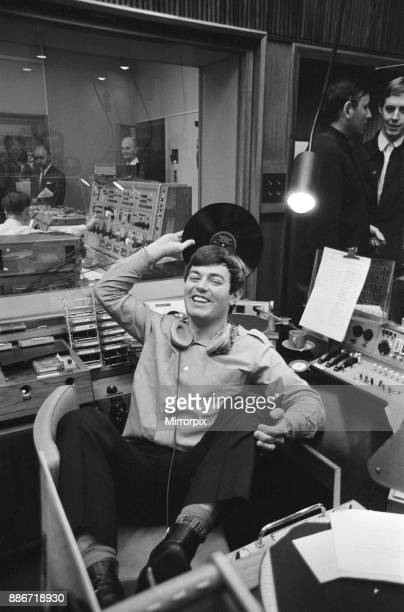 Tony Blackburn the 22 year old Disc Jockey finishes his broadcast of the very first show on BBC Radio One The BBC Radio One launched at 7am Friday...