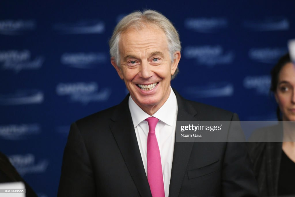 Annual Charity Day Hosted By Cantor Fitzgerald, BGC and GFI - Cantor Fitzgerald Office - Arrivals : News Photo