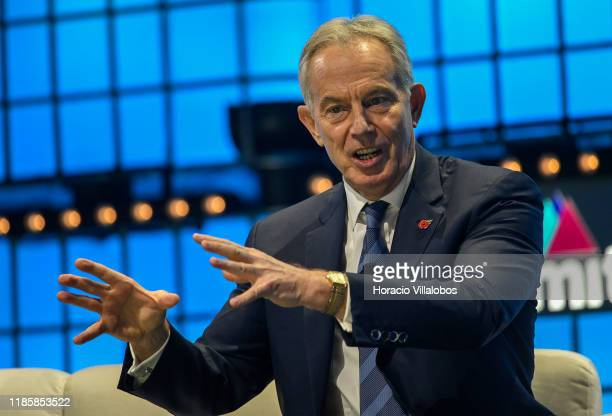 Tony Blair, Executive Chairman of the Institute for Global Change and former UK Prime Minister, and Ro Khanna , member of the U.S. House of...