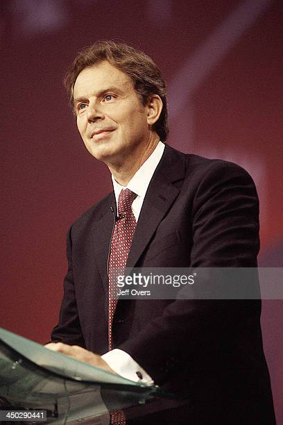 Tony Blair GB PM Prime Minister and Lab Labour Party MP for Sedgefield