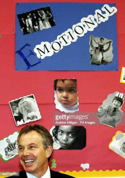 Tony Blair meets The Stepping Stones for Families Childcare Works group at the Glenburnie Centre in Glasgow The group is a voluntary organisation...