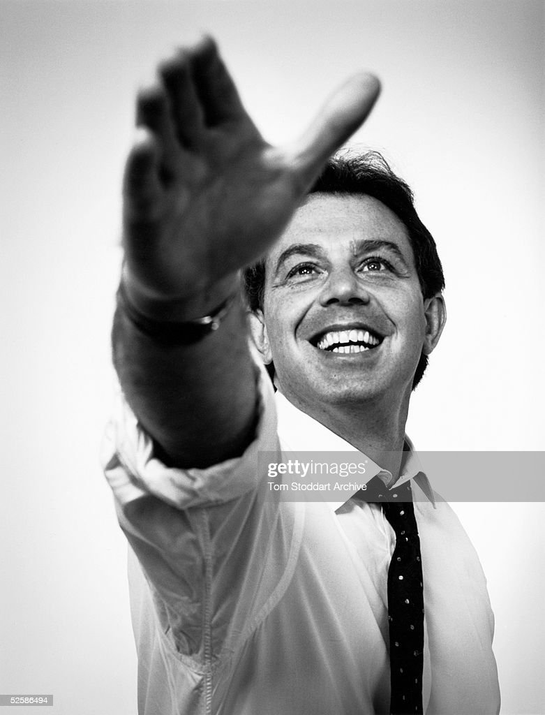 Tony Blair Campaign Trail : News Photo