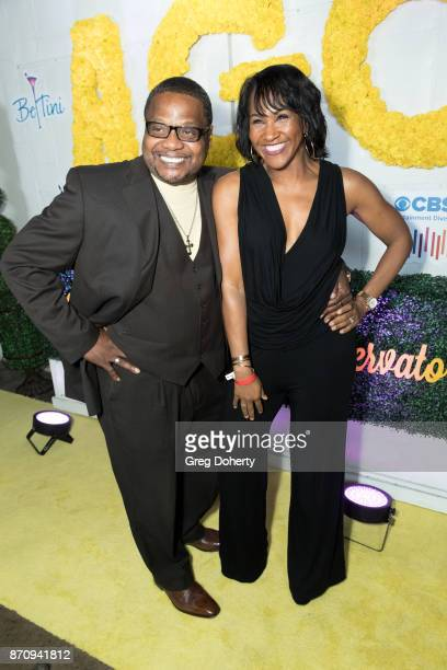 Tony Bracy and Actress Terri J Vaugh attend the Wendy Raquel Robinson And Amazing Grace Conservatory's 'There's No Place Like Home' 20th...