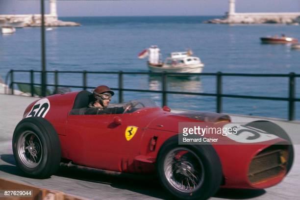 Tony Brooks Ferrari 246 Grand Prix of Monaco Monaco 10 May 1959