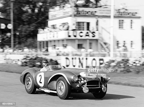 Tony Brooks in Aston Martin DB3S Goodwood 9 Hours West Sussex Brooks and codriver Peter Collins finished third in the 1955 Goodwood 9 Hour race in a...