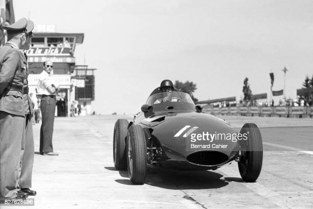 Tony Brooks Vanwall VW 5 Grand Prix of Germany Nurburgring 04 August 1957