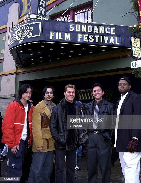 Tony Bui Timothy Linh Bui Patrick Swayze Don Duong and Forest Whitaker