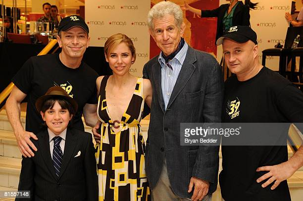 Tony Campaign Manager Cubby Bernstein actors Arnie Burton Kerry Butler Tony Roberts and Cliff Saunders attend the Macy's Stop Dreaming And Start...