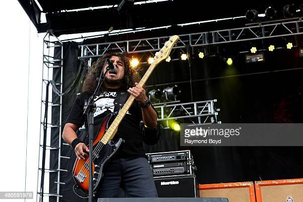 Tony Castadena from Kyng performs at Columbus Crew Stadium on May 16 2014 in Columbus Ohio