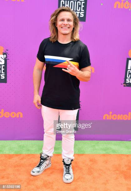Tony Cavalero attends the Nickelodeon Kids' Choice Sports Awards 2017 at Pauley Pavilion on July 13, 2017 in Los Angeles, California.