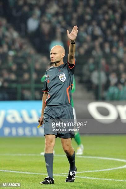ARBITRE Tony CHAPRON Saint Etienne / Lyon 12eme journee de Ligue 1 Stade Geoffroy Guichard Saint Etienne