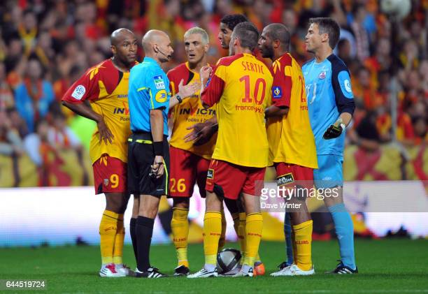 Tony CHAPRON / Issam JEMAA Lens / Lille Ligue 1 5e journee Photo Dave Winter / Icon Sport