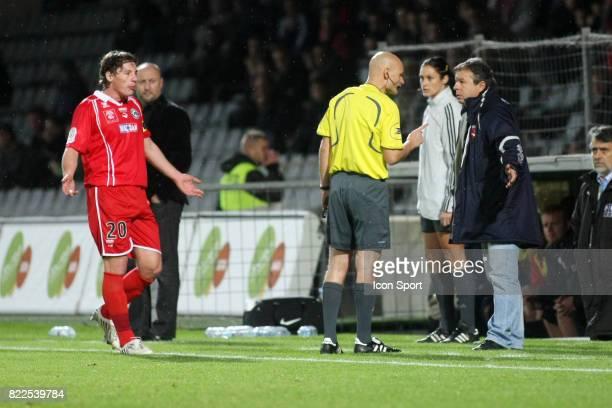 Tony CHAPRON / Jean Michel CAVALLI Nimes / Caen 15e journee Ligue 2