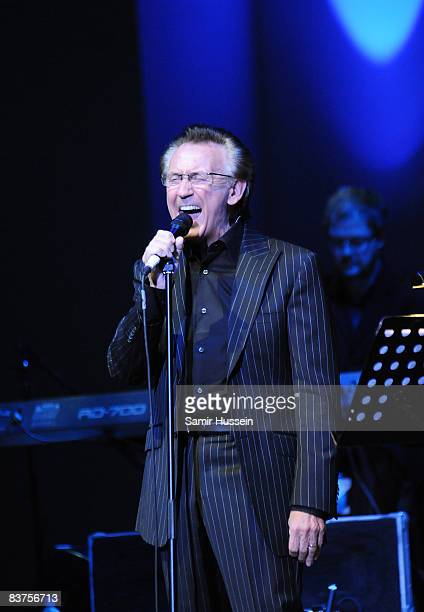 Tony Christie performs at the Cadogan Hall on November 19 2008 in London England