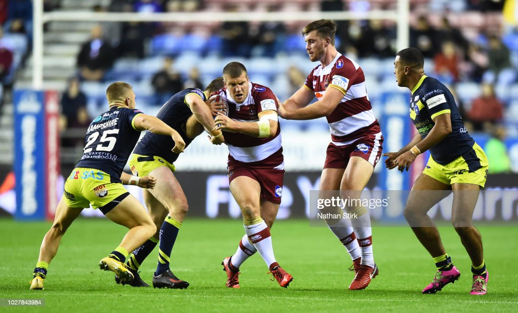 Wigan Warriors v Wakefield Trinity - BetFred Super League : News Photo