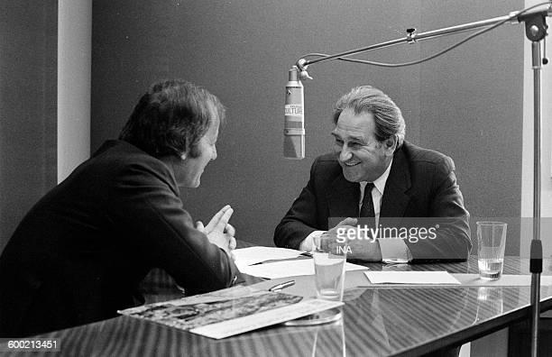 "Tony Comiti answers Jacques Chancel's questions in the program ""Radioscopy""."