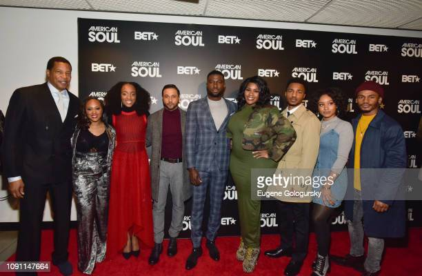 Tony Cornelius Perri Camper Iantha Richardson Jason Dirden Sinqua Walls Kelly Price Christopher Jefferson Katlyn Nichol and Jelani Winston attend the...