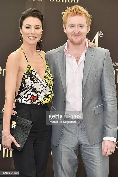 Tony Curran and Jaime Murray attend a photocall at Grimaldi forum on June 9 2014 in MonteCarlo Monaco