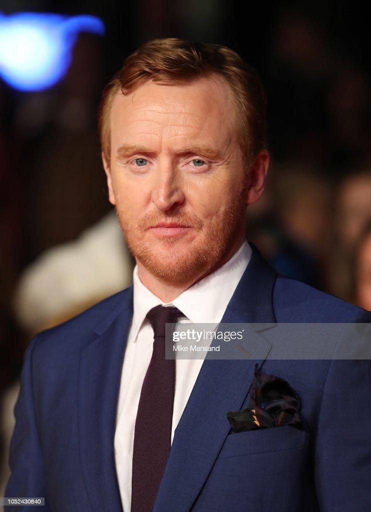 'Outlaw King' European Premiere -  62nd BFI London Film Festival : News Photo