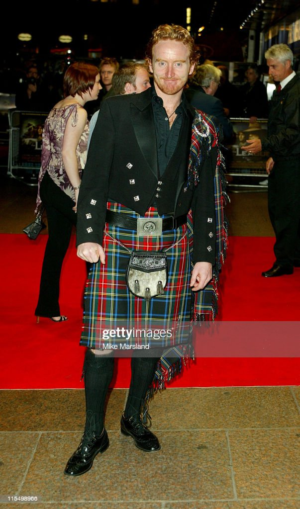 Tony Curran during 'The League Of Extraordinary Gentlemen' Uk Premiere at The Odeon Leicester Square in London, United Kingdom.