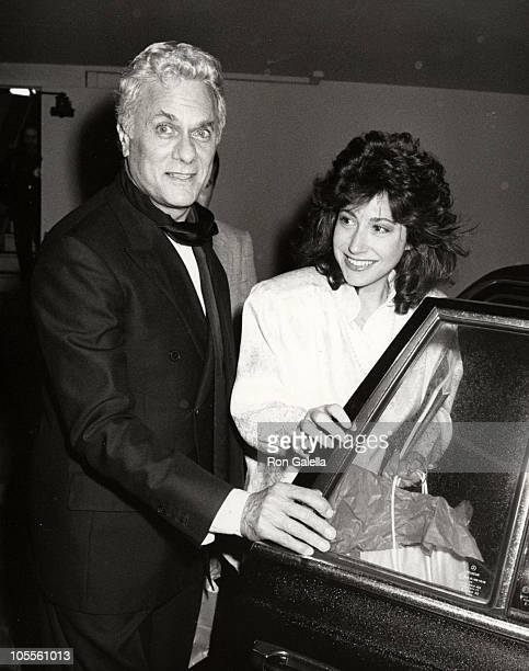 Tony Curtis _Jacobson during AFI Lifetime Achievement Award to Billy Wilder at Beverly Hilton Hotel in Beverly Hills California United States