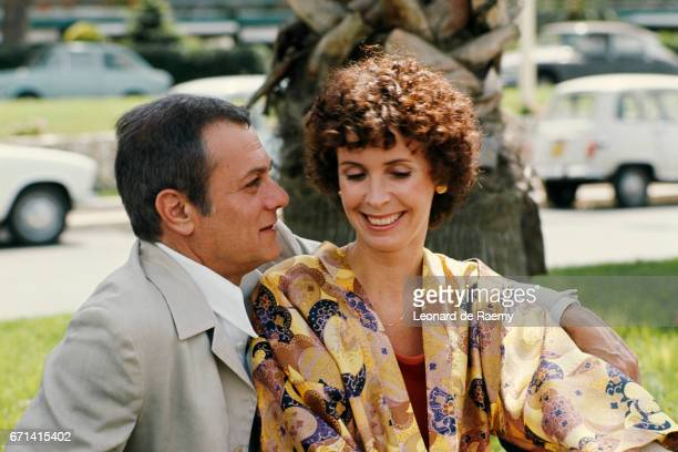 Tony Curtis and His Wife at the Cannes Film Festival