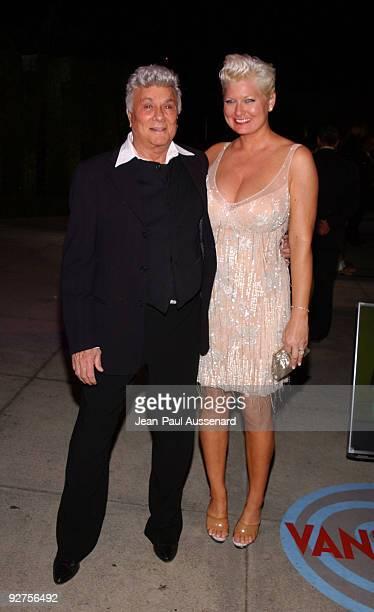 Tony Curtis and Jill Vandenberg